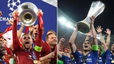 Dua seteru Inggeris bertemu di pentas Eropah
