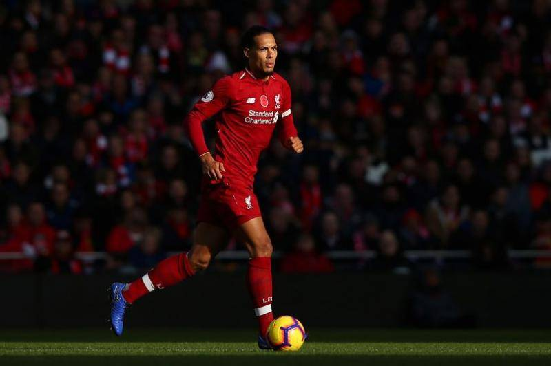 Van Dijk in action