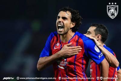 JDT catat kemenangan ke atas PJ City FC
