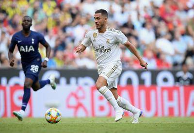 Real Madrid ketepikan Hazard