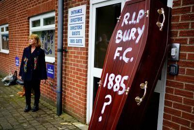 Tenggelamnya Bury FC