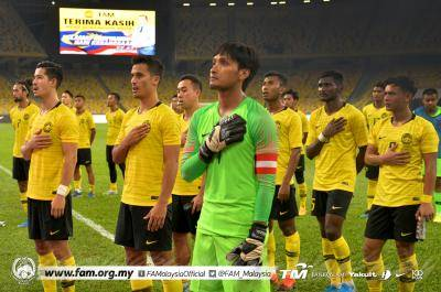 Lima lagu semarak sorakan buat Harimau Malaya