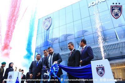 Enam tahun penuh gemilang, JDT rasmi pejabat baharu