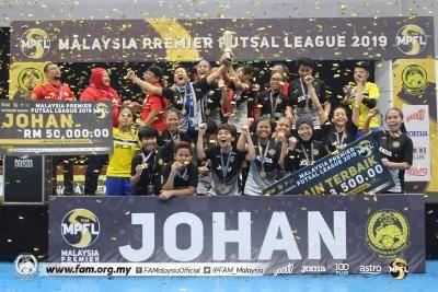 Kuala Lumpur Juara futsal wanita