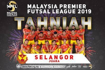 Selangor juara