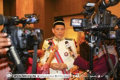 Pemegang taruh sebulat suara pilih Datuk Haji Hamidin sebagai Presiden MFL