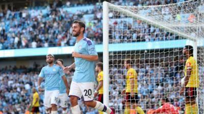 City berpesta gol