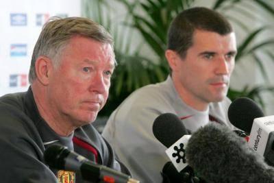 Roy Keane lancar perang ke atas Alex Ferguson