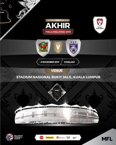 Final Piala Malaysia di Bukit Jalil