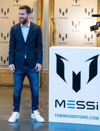 Messi ceburi bidang fesyen