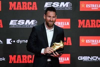 Anugerah Kasut Emas keenam Messi