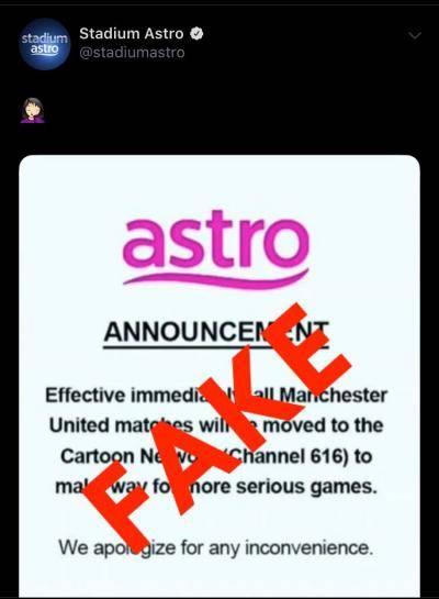 Stadium Astro tampil beri penjelasan