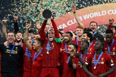 Liverpool won FIFA Club World Cup for the first time in history