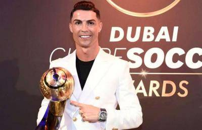 Cristiano Ronaldo won Player of the Year for a sixth time