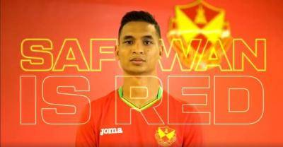 Selepas 27 tahun, Safuwan Baharudin menjadi pemain Singapura pertama berhijrah ke Selangor