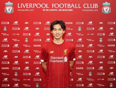 Takumi Minamino becomes first Japanese to join Liverpool