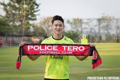 Dominic Tan sertai Police Tero