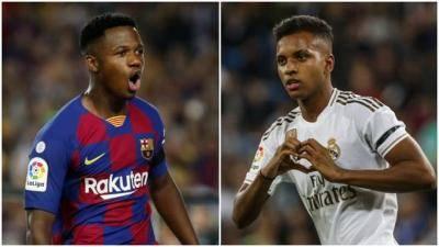 VIDEO: Fati and Rodrygo the next Messi-Ronaldo rivalry