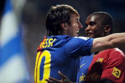 When Lionel Messi couldn't score, he always remember Samuel Eto'o