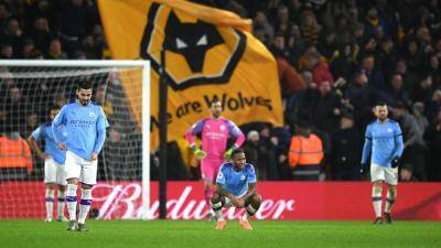 Dramatic defeat for Man City