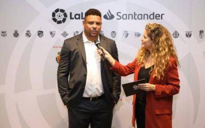 Ronaldo Nazario: LaLiga is more exciting than ever, anything can happen.