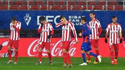 Atletico stun by tiny Eibar