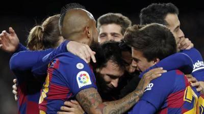 [VIDEO] Barcelona claim first win under Quique Setien