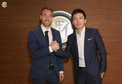 [VIDEO] After 7 years playing for Spurs, Christian Eriksen joins Inter