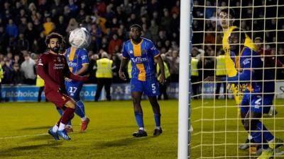 Liverpool B failed to beat third division club Shrewsbury