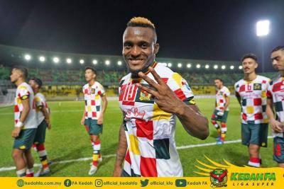 Kipre Tchetche gembira latihan sepakan jarak jauh bantu Kedah raih kemenangan