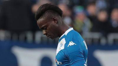 Mario Balotelli sent off for the 13th time in his career