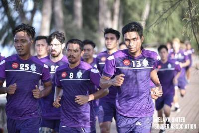 Melaka United adakan pra-musim di Bandung