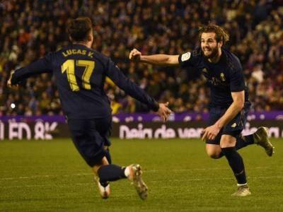 Delicious Nacho help Real Madrid tops La Liga table