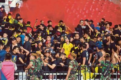 Akibat serang penyokong Malaysia, Indonesia diarah main stadium kosong