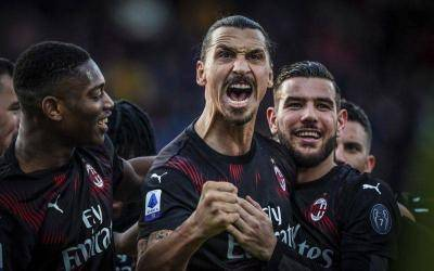Zlatan Ibrahimovic delighted to score first goal since rejoining Milan