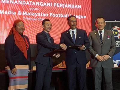 RASMI: TM penaja utama Liga Malaysia 2020-2022