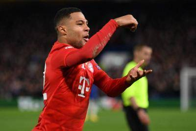 [VIDEO] Serge Gnabry scored twice in 5 minutes as Bayern sink Chelsea at Stamford Bridge