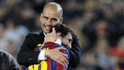 [VIDEO] Pep Guardiola prefers Lionel Messi to stay in Barcelona, rather than joining Man City