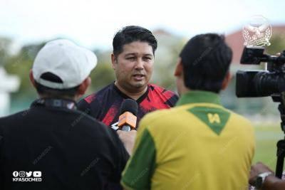 Aidil Sharin sediakan sesi latihan Kedah…di Singapura