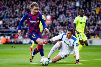 [VIDEO] Barcelona stay on title race despite scrappy win over Getafe