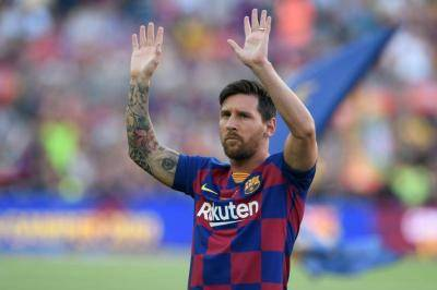 Lionel Messi ranked #1 forward by ESPN with four other Barcelona players among top 100 footballers