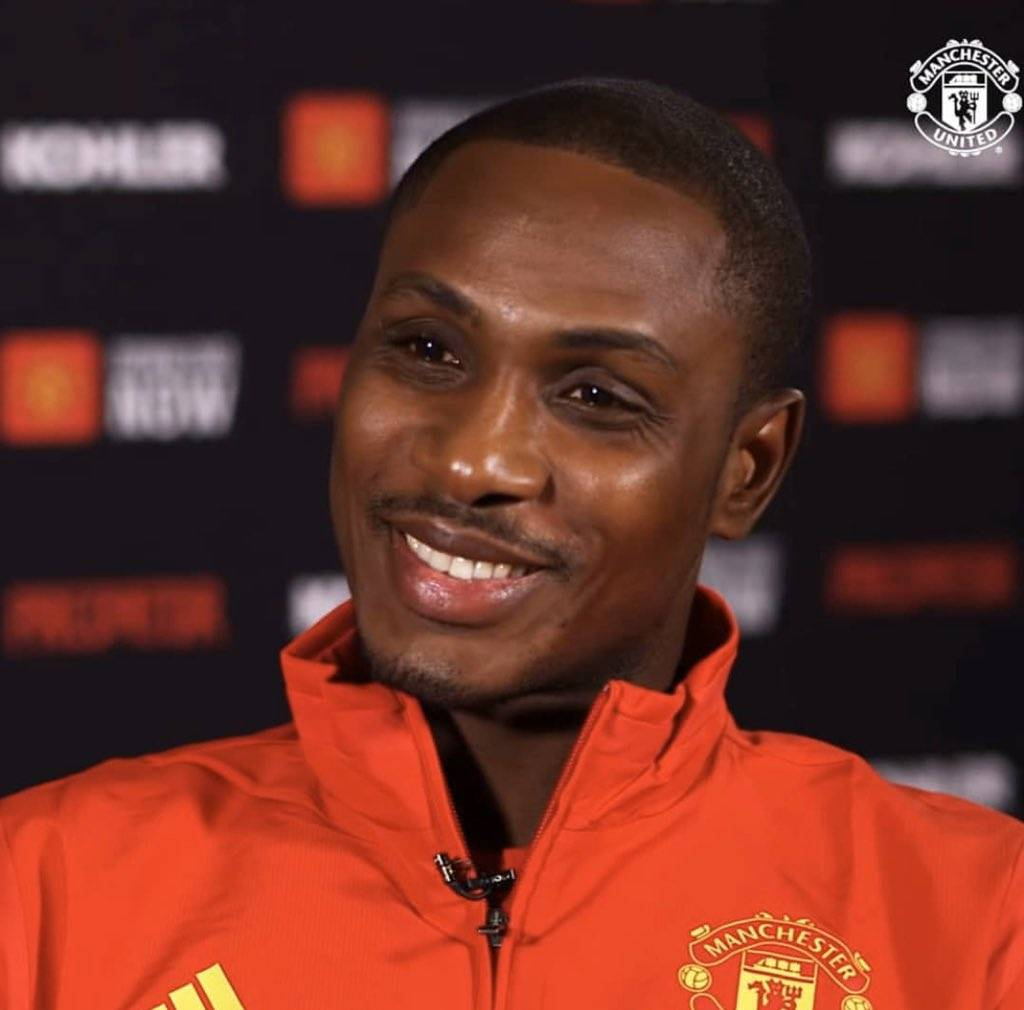Odion Ighalo Took A Pay Cut To Join Man United Football