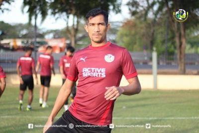 Indra Putra berhasrat untuk menamatkan kariernya di Kuala Lumpur