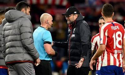 Jurgen Klopp a sore loser after Atletico Madrid loss?