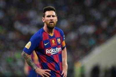 Lionel Messi not happy with Eric Abidal