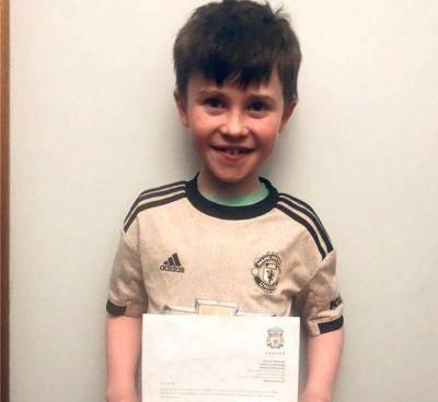 This Man Utd fan gets letter from Jurgen Klopp