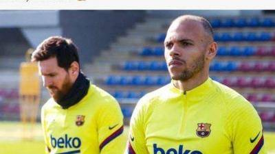 [VIDEO] Camp Nou clamours for Bartomeu's removal while Braithwaite fits in well
