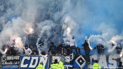 Hamburg SV allow fans to use pyrotechnics
