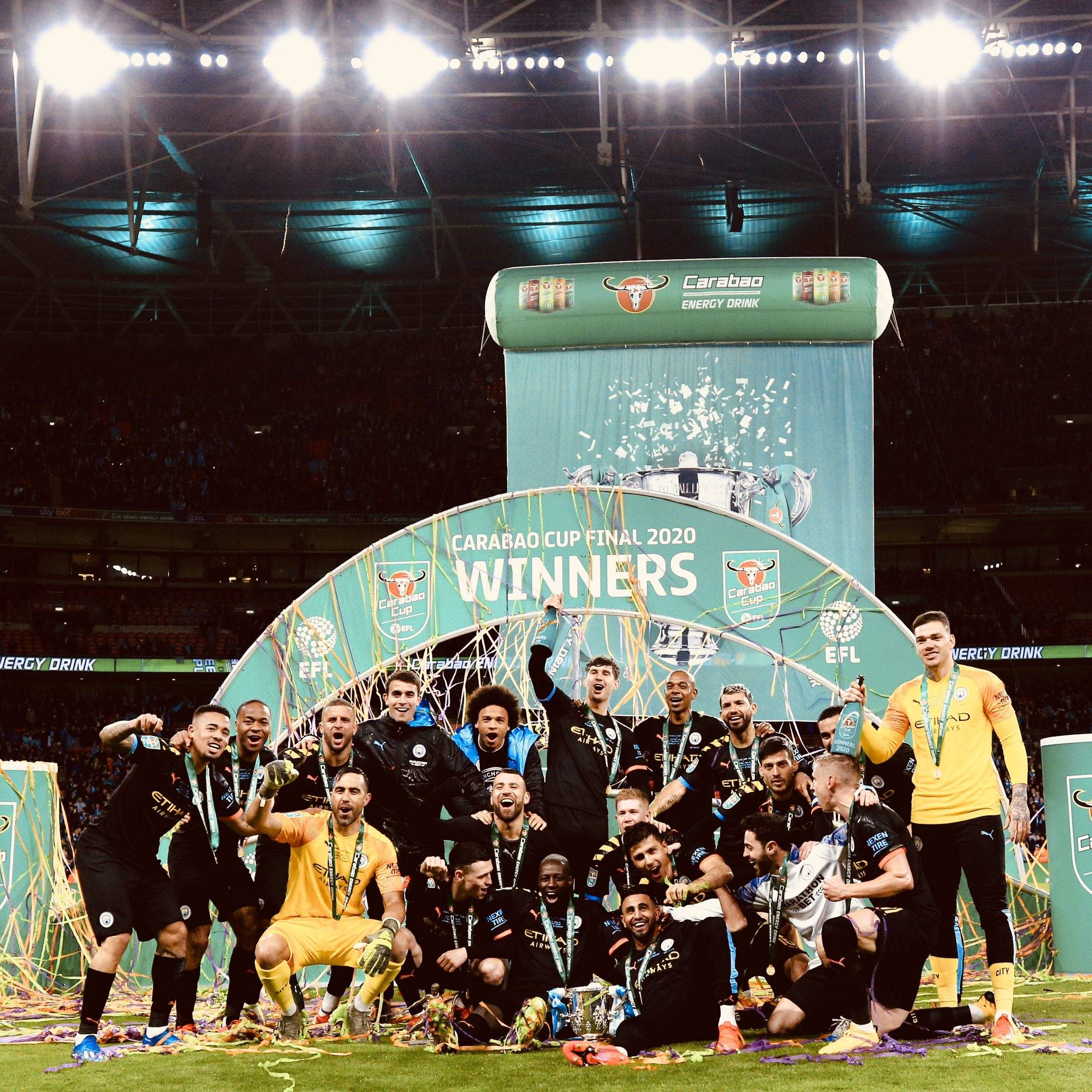 Man City Won 3rd Successive Carabao Cup Title Football