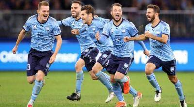 A-League is the only football league you can watch right now